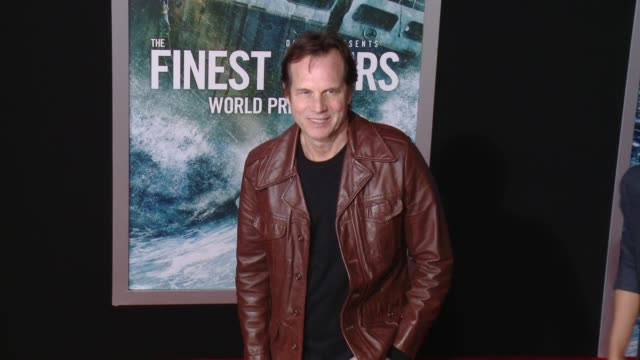 "bill paxton at ""the finest hours"" los angeles premiere at tcl chinese theatre on january 25, 2016 in hollywood, california. - bill paxton stock videos & royalty-free footage"