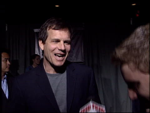 bill paxton at the 'ghosts of the abyss' premiere at universal citywalk imax in universal city, california on march 13, 2003. - bill paxton stock videos & royalty-free footage