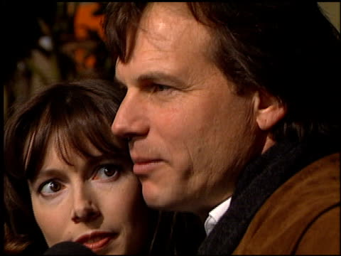 bill paxton at the 'mighty joe young' premiere at cineplex odeon broadway in santa monica, california on december 10, 1998. - bill paxton stock videos & royalty-free footage