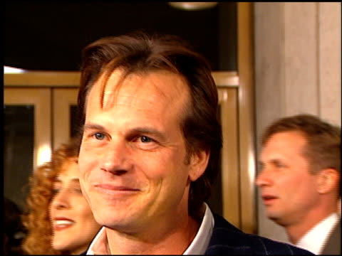 bill paxton at the premiere of 'the evening star' at the bruin theatre in westwood, california on december 15, 1996. - bill paxton stock videos & royalty-free footage