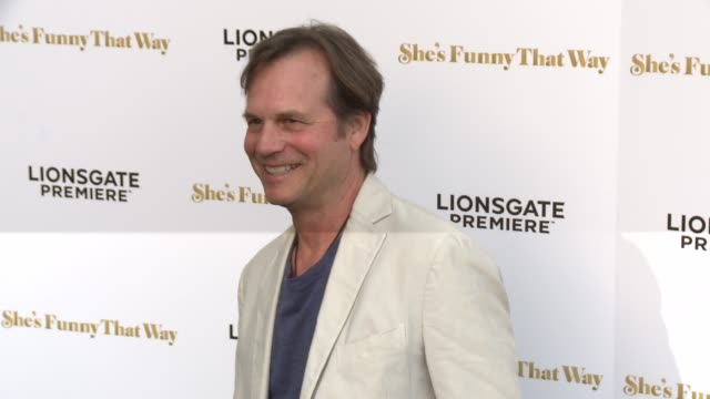 "bill paxton at the ""she's funny that way"" los angeles premiere at harmony gold theatre on august 19, 2015 in los angeles, california. - bill paxton stock videos & royalty-free footage"