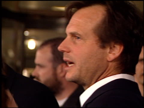 bill paxton at the 'solaris' premiere at the cinerama dome at arclight cinemas in hollywood, california on november 19, 2002. - bill paxton stock videos & royalty-free footage