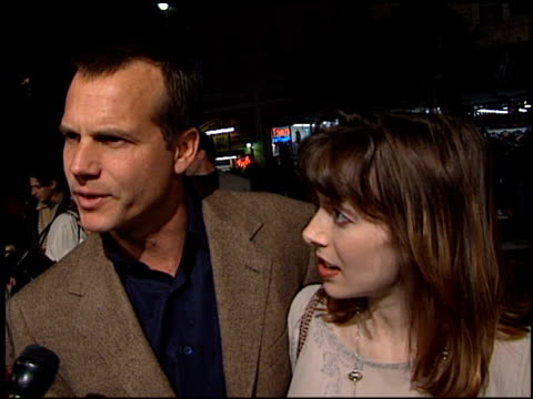 bill paxton at the 'titanic' premiere at grauman's chinese theatre in hollywood, california on december 14, 1997. - bill paxton stock videos & royalty-free footage