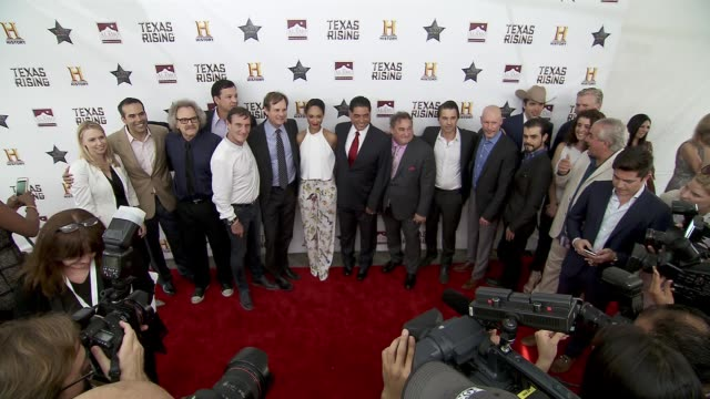 bill paxton brendan fraser ray liotta kris kristofferson olivier martinez cynthia addairobinson leslie greif and josé feliciano at history®... - bill paxton stock videos and b-roll footage