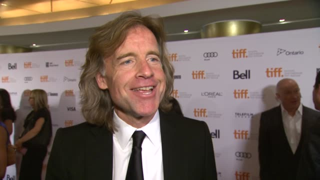INTERVIEW Bill Pohlad on the event at '12 Years A Slave' Premiere 2013 Toronto International Film Festival on 9/6/2013 in Toronto Canada