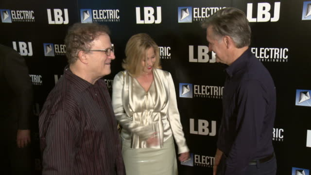 """bill pullman and albert brooks at the """"lbj"""" premiere at arclight hollywood on october 24, 2017 in hollywood, california. - bill pullman stock videos & royalty-free footage"""
