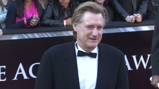 bill pullman at the 83rd annual academy awards - arrivals part 3 at hollywood ca. - bill pullman stock videos & royalty-free footage