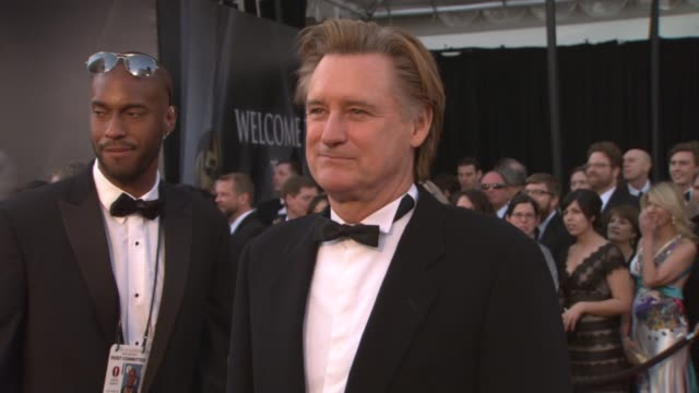 bill pullman at the 83rd annual academy awards - arrivals pool cam at hollywood ca. - bill pullman stock videos & royalty-free footage