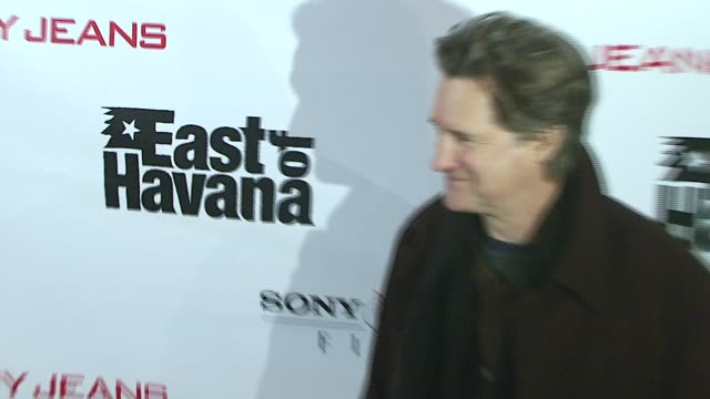 bill pullman at the 'east of havana' new york premiere at ifc center in new york, new york on february 1, 2007. - bill pullman stock videos & royalty-free footage