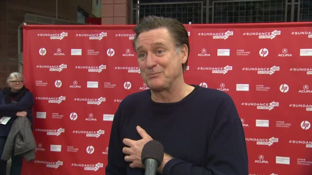 bill pullman on how it feels to have the film opening the festival, talks about his character & the story, what it was like filming in jordan and how... - bill pullman stock videos & royalty-free footage