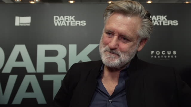 interview bill pullman on why he chose to work on the film who his character is why rob bilott's story is so important what he is most proud of... - participant stock videos & royalty-free footage