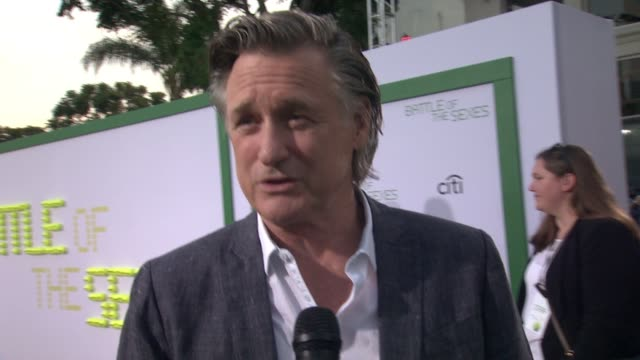 bill pullman talks about playing jack, was the bad guy who was part of the establishment. talks about knowing about the match when he was younger,... - bill pullman stock videos & royalty-free footage