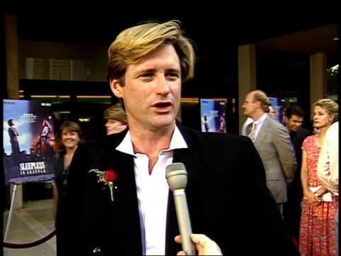 bill pullman talks about romance. - bill pullman stock videos & royalty-free footage