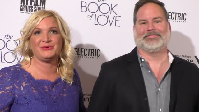 "bill purple & michelle purple at the ""the book of love"" los angeles premiere at pacific theatre at the grove on january 10, 2017 in los angeles,... - the grove los angeles stock videos & royalty-free footage"