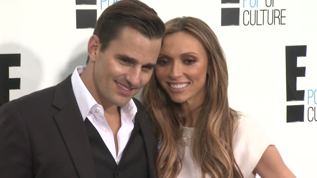 Bill Rancic and Giuliana Rancic at E Upfront 2012 at Gotham Hall on April 30 2012 in New York New York