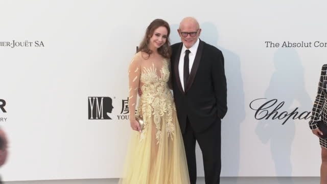 Bill Roedy at the amfAR Cannes Gala 2019 Arrivals at Hotel du CapEdenRoc on May 23 2019 in Cap d'Antibes France