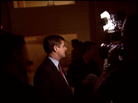 bill simon at the election of arnold schwarzenegger at the century plaza hotel in century city, california on october 7, 2003. - century plaza stock videos & royalty-free footage