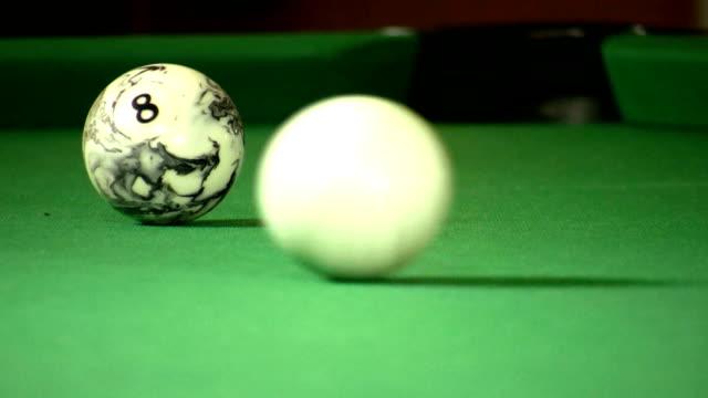 billard - キューボール点の映像素材/bロール