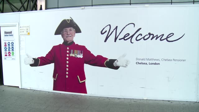 billboard at heathrow airport in london - poster stock videos & royalty-free footage