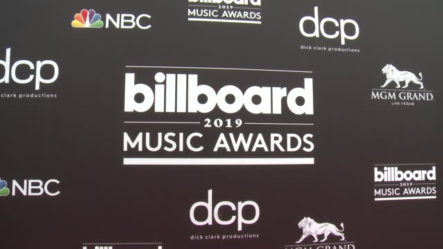 billboard music awards at mgm grand garden arena on may 1 2019 in las vegas nevada - mgm grand garden arena stock videos & royalty-free footage