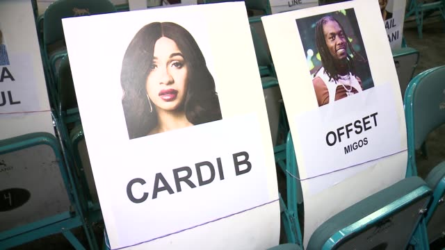vidéos et rushes de billboard music awards performer interviews and seat cards at mgm grand garden arena on april 30 2019 in las vegas nevada - billboard music awards