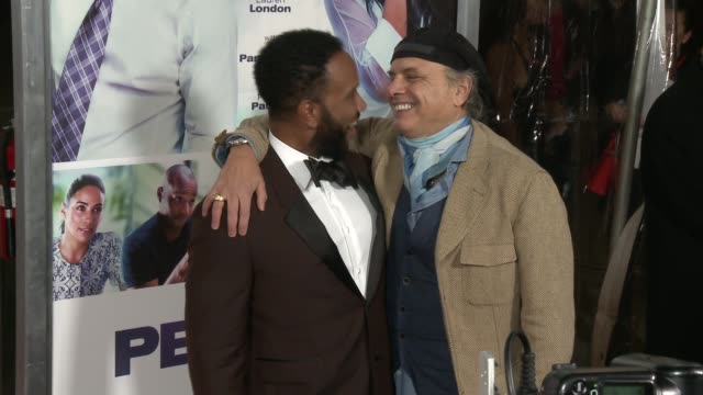 bille woodruff and joe pantoliano at the perfect match los angeles premiere at arclight cinemas on march 07 2016 in hollywood california - arclight cinemas hollywood stock videos & royalty-free footage