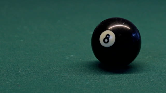 billiard - number 8 stock videos & royalty-free footage