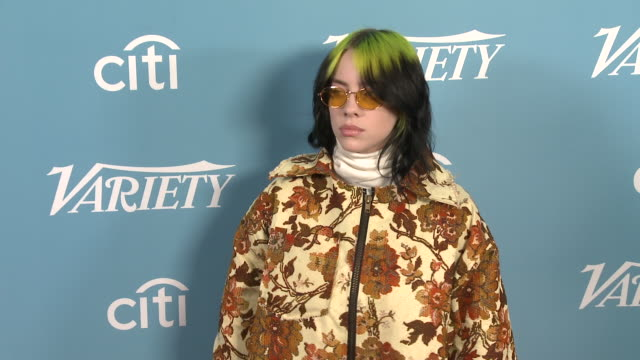 billie eilish at the variety's hitmakers brunch at soho house on december 07 2019 in west hollywood california - billie eilish stock videos & royalty-free footage