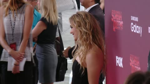 """stockvideo's en b-roll-footage met billie lourd at the """"scream queens"""" los angeles premiere & party at the wilshire ebell theatre on september 21, 2015 in los angeles, california. - wilshire ebell theatre"""