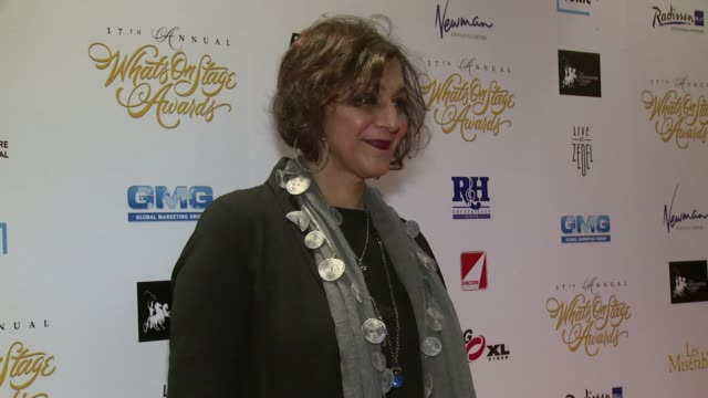 billie piper, meera syal, hayley westenra, gary trainor, helen george, amanda abbington, louisa lytton at prince of wales theatre on february 19,... - meera syal stock videos & royalty-free footage