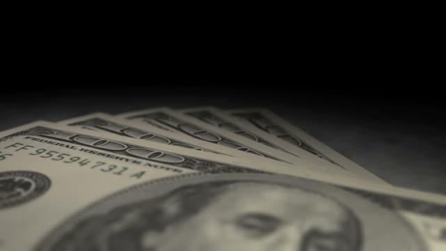 100 ドルの紙幣マルチ視点フライ overs (1080 /30 p - 褒美点の映像素材/bロール