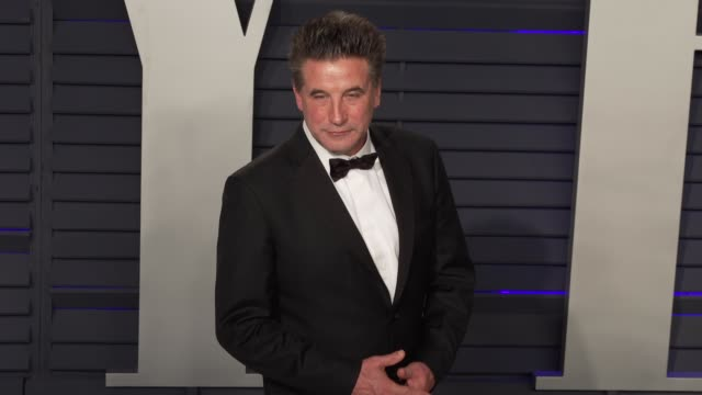 billy baldwin at 2019 vanity fair oscar party hosted by radhika jones at wallis annenberg center for the performing arts on february 24, 2019 in... - vanity fair oscar party stock videos & royalty-free footage
