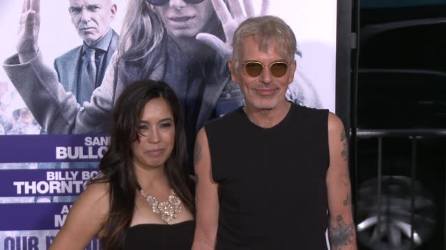 Billy Bob Thornton and Connie Angland at the Our Brand Is Crisis Los Angeles Premiere at TCL Chinese Theatre on October 26 2015 in Hollywood...