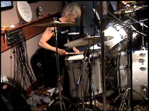 Billy Bob Thornton and his band rehearse Beautiful Door at the Interview with Billy Bob Thornton on his Fourth Solo Album Beautiful Door at NULL in...