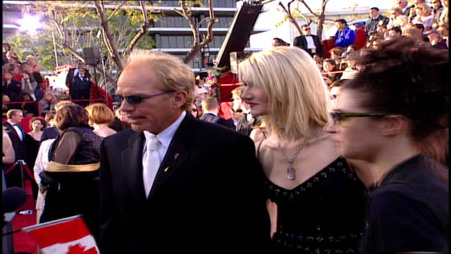 billy bob thornton and laura dern on the 71st academy awards red carpet - 71st annual academy awards stock videos & royalty-free footage