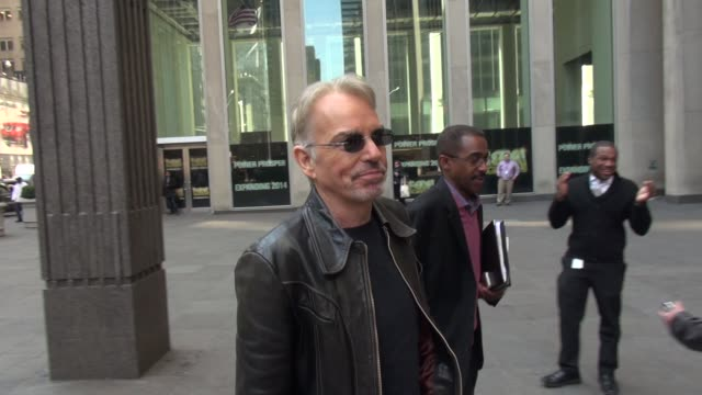 Billy Bob Thornton arrives at FOX talks about what he's been working on in Celebrity Sightings in New York