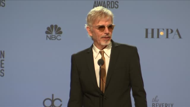 SPEECH Billy Bob Thornton at 74th Annual Golden Globe Awards Press Room at The Beverly Hilton Hotel on January 08 2017 in Beverly Hills California