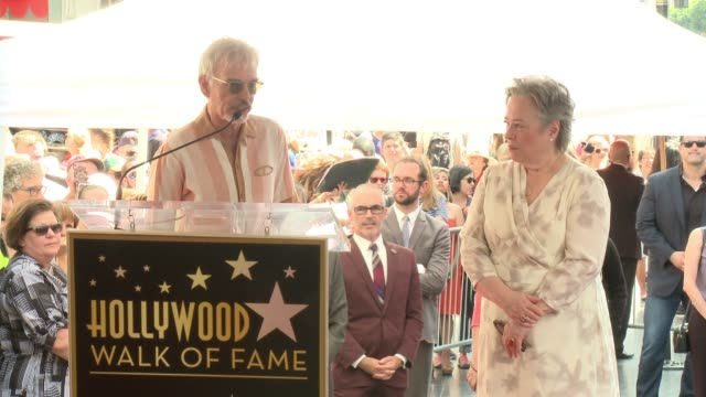 SPEECH Billy Bob Thornton at Hollywood Walk Of Fame on September 20 2016 in Hollywood California