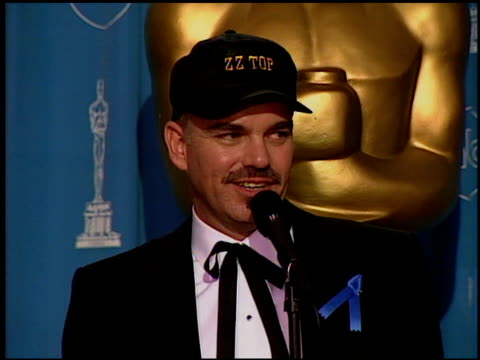 Billy Bob Thornton at the 1997 Academy Awards Governor's Ball at the Shrine Auditorium in Los Angeles California on March 24 1997