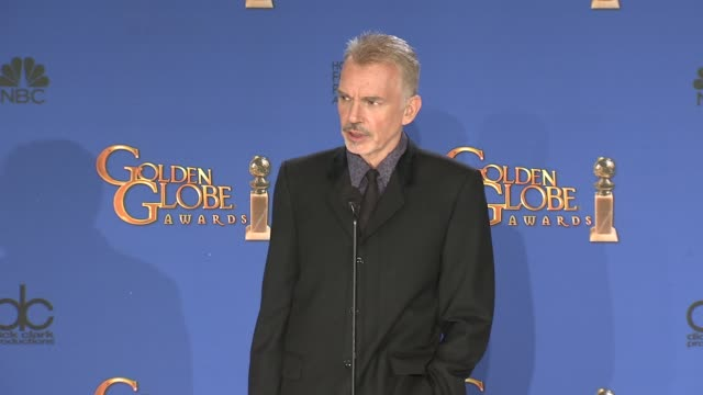 SPEECH Billy Bob Thornton at the 72nd Annual Golden Globe Awards Press Room at The Beverly Hilton Hotel on January 11 2015 in Beverly Hills California