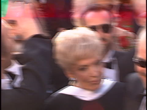 billy bob thornton at the academy awards 97 at shrine auditorium. - shrine auditorium stock videos & royalty-free footage