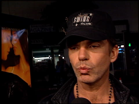 Billy Bob Thornton at the 'All the Pretty Horses' Premiere at the Bruin Theatre in Westwood California on December 17 2000