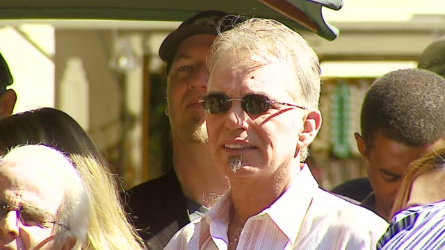 Billy Bob Thornton at the Dediction of Tim McGraw's Star on the Walk of Fame at Hollywood in Hollywood California on October 17 2006