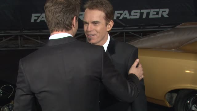 Billy Bob Thornton at the 'Faster' Premiere at Hollywood CA