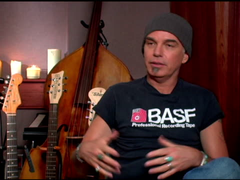 Billy Bob Thornton on dealing with the prejudice towards actors becoming musicians on his music industry experience and on writing songs versus...