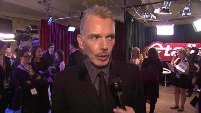 INTERVIEW Billy Bob Thornton on what he thought when he won at 72nd Annual Golden Globe Awards Backstage at The Beverly Hilton Hotel on January 11...