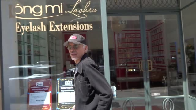 Billy Bob Thornton shopping in Beverly Hills in Celebrity Sightings in Los Angeles