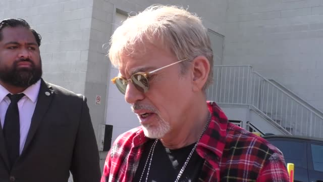INTERVIEW Billy Bob Thornton talks about doing Norm MacDonald Live while outside Jimmy Kimmel Live in Hollywood in Celebrity Sightings in Los Angeles