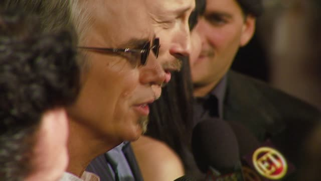 billy bob thorton at the 'the astronaut farmer' premiere at the cinerama dome at arclight cinemas in hollywood california on february 20 2007 - the astronaut farmer stock videos and b-roll footage