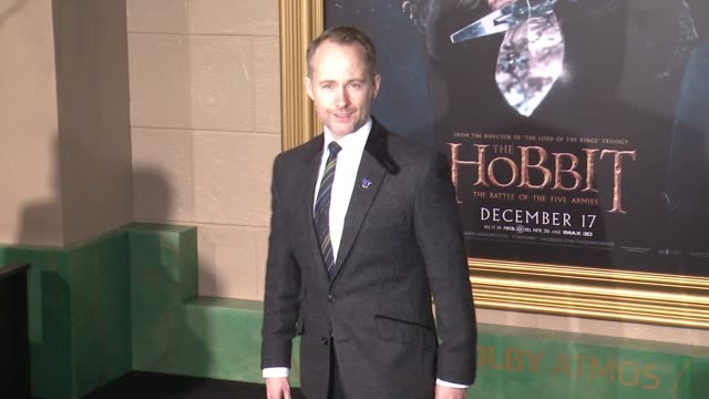 "billy boyd at ""the hobbit: the battle of the five armies"" los angeles premiere at dolby theatre on december 09, 2014 in hollywood, california. - the hobbit: the battle of the five armies stock videos & royalty-free footage"